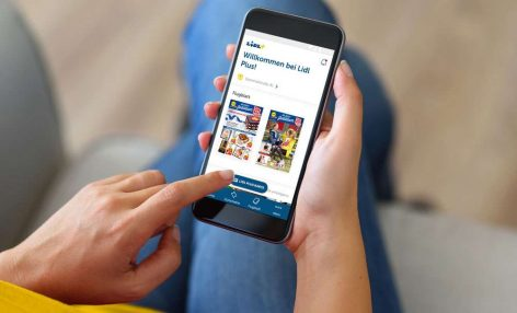 Hűség-appot tesztel a Lidl Németországban