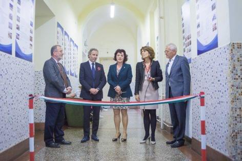 Szakmatörténeti kiállítás az BGE KVIKen