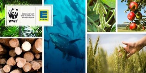 Edeka: a WWF-fel az ökológiai lábnyom csökkentéséért