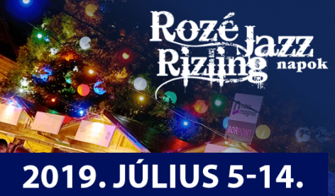 Thirty concerts and thirty winemakers at the Rozé Rizling Jazz Days in Veszprém in July