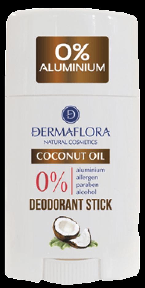 Dermaflora Natural Cosmetics 0% coconutoil deo stift