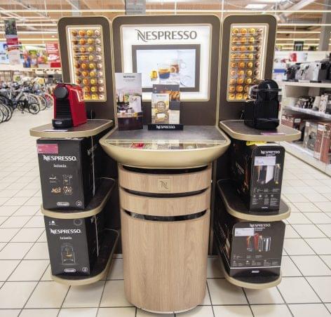 Már az Auchanban is kaphatók a Nespresso kávégépei