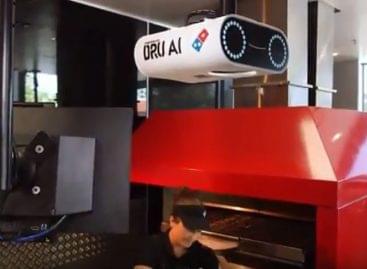 Pizzaminőség-ellenőrző kamera – A nap videója