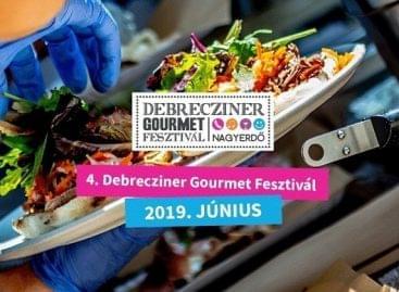 Több mint negyvenöt kiállító az idei Debrecziner Gourmet Fesztiválon