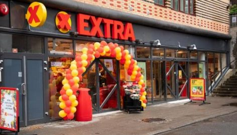 Coop Norge's Extra Opens 24-Hour, Self-Service Grocery Store