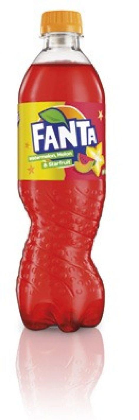 A dinnye-csillaggyümölcsre voksoltak aFanta-fogyasztók
