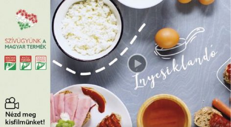Commercial promotes Hungarian Product