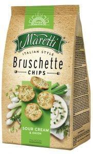 Maretti sour cream-onion breadchips