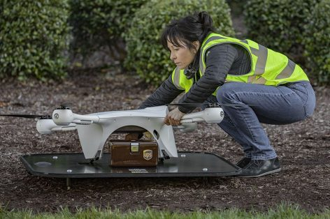 UPS coming up with drones