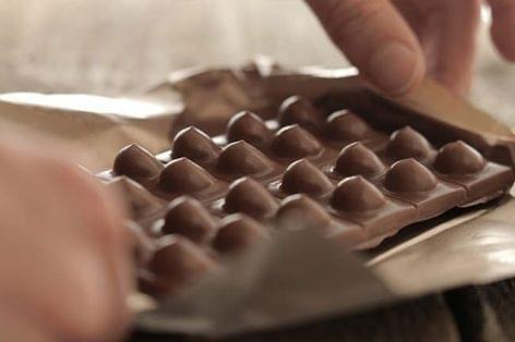 Hímsoviniszta táblás csokoládé – A nap képe