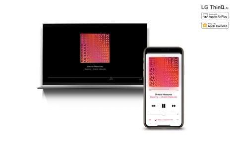 LG a világon elsőként teszi elérhetővé televízióin az Apple HomeKit keretrendszert
