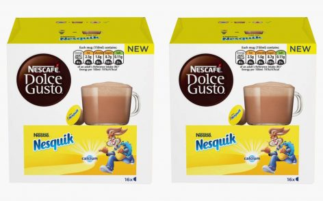 Nestlé releases Nesquik pods for the Nescafé Dolce Gusto system
