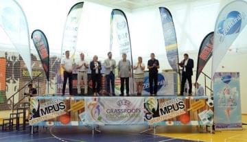 A Kolozsvári Magyar Diákszövetség érdemelte ki a legsportszerűbb résztvevőnek járó Szentkirályi Fair Play díjat