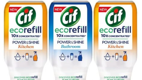 Unilever Launches 'Cif Ecorefill' In The UK To Reduce Plastic Use