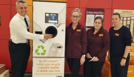 Sainsbury's Extends Trial Of Reverse Vending Machine To Scotland