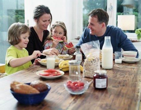 Közös családi étkezések