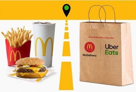 Új partnerséggel bővíti a McDonald's McDelivery-szolgáltatását