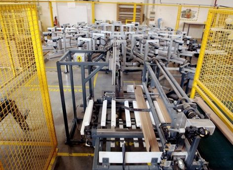 The DS Smith Packaging Hungary Kft. started production of paper pallets