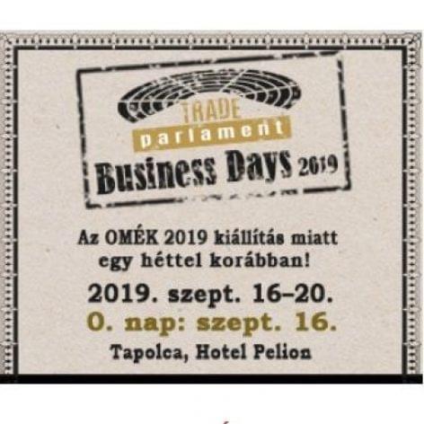 Business Days September 16-20, 2019; Day 0 – September 16, 2019