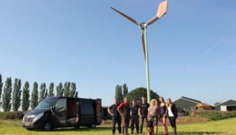 FrieslandCampina: szélenergiával a fenntarthatóságért
