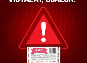 Figyelmeztetést adott ki a SPAR: be ne dőljön, ha ilyet lát a neten