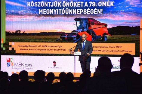 The 79th OMÉK was opened in the spirit of rejuvenation and modernity