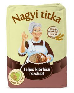 New wholemeal flours Nagyi Titka portfolio