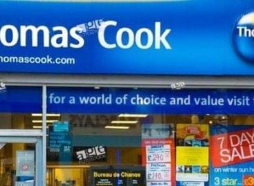 Thomas Cook-csőd: ezernél több járat kell a brit utasok hazaszállításához