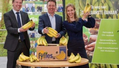 Klímasemleges, lekövethető banán a Plus-tól