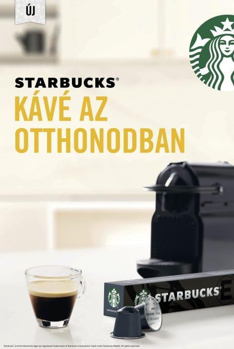 STARBUCKS kávé az otthonodban – Szeptembertől új, ikonikus márkával bővül a Nestlé Hungária kávé portfóliója