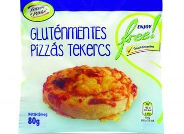 Pizzás tekercs – gluténmentes változatban!
