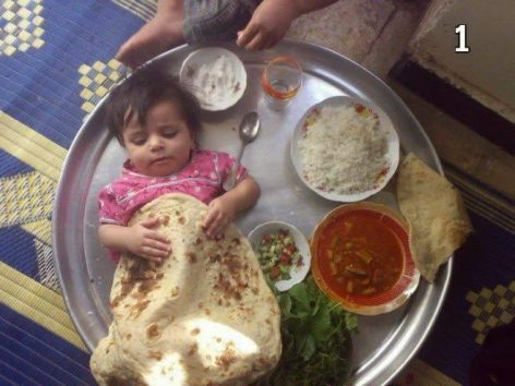 We are eating, drinkinga nd solving everything – Picture of the day