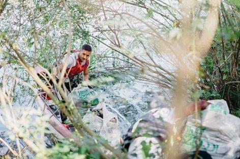 Közel 2 tonna hulladékot gyűjtöttek össze önkéntesek a Tisza-tónál