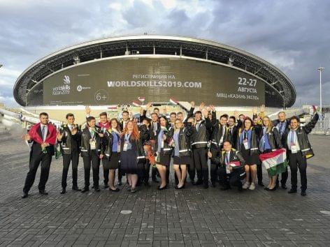 Magazin: WorldSkills-verseny Kazanyban