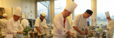 Chef competition for public catering