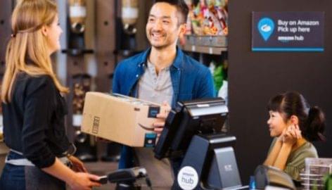 Kiterjeszti az Amazon csomagfelvételi hálózatát