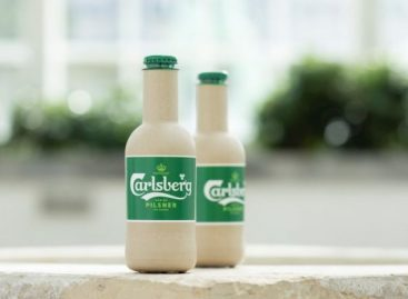 Carlsberg: sör papírpalackban