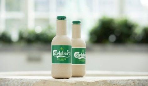 Papírpalackos sör a Carlsbergtől
