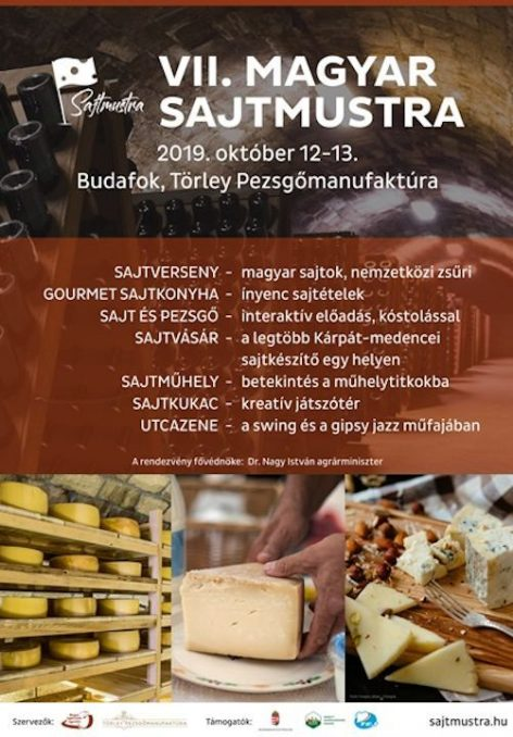 The 7th Hungarian Cheese Muster has been opened