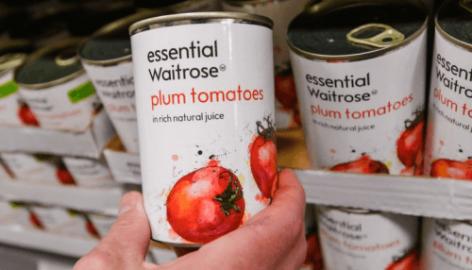 Waitrose: kevesebb műanyag csomagolás a konzerveken