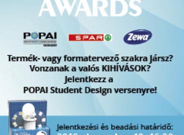 Magazin: Student Design hallgatói display-tervező verseny