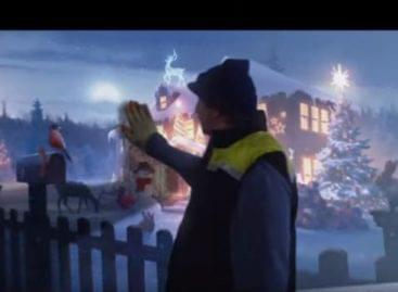 Élelmiszeráruház-lánc brit karácsonyi reklámja 2019-ben – A nap videója