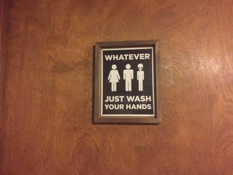 A genderneutral and healthcentered restroom – Picture of the day