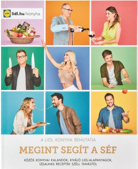 This year's Lidl cookbook is based on recipes from seven domestic celebrities