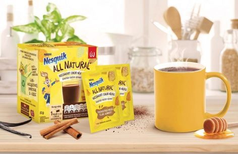 Nesquik cocoa powder without added sugar debuts in Hungary