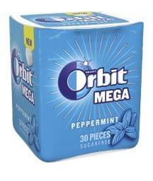 Orbit Mega prémium rágógumi 66 g