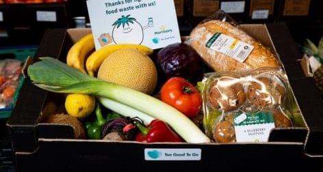 Három fontért adja a Morrisons tíz font értékű, lejárat-közeli élelmiszereit