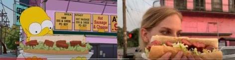 Végigenni New Orleanst Homer Simpsonnal – A nap videója