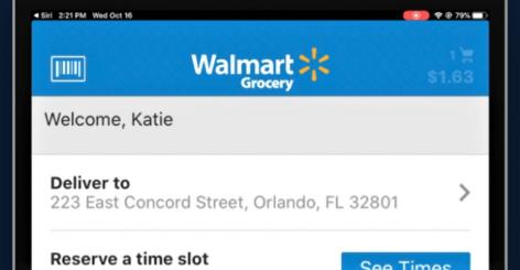A Walmartban is segít ezentúl Siri