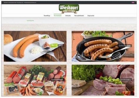 Megújult a Wiesbauer-Dunahús honlapja: előtérben a virslispecialitások!
